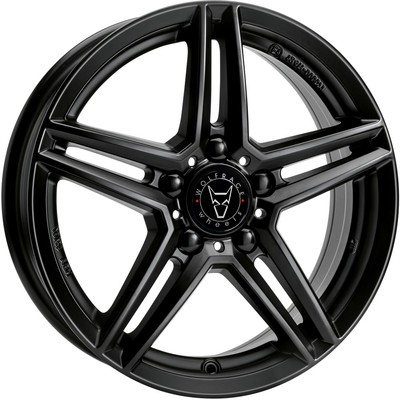 Wolfrace Eurosport M10X Racing Black Alloy Wheels Image