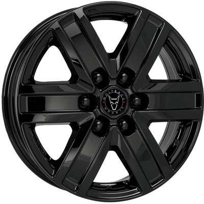 Wolfrace Eurosport Transporter Diamond Black Alloy Wheels Image