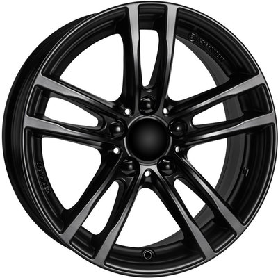 7.5x17 Wolfrace Eurosport X10 Racing Black Alloy Wheels Image