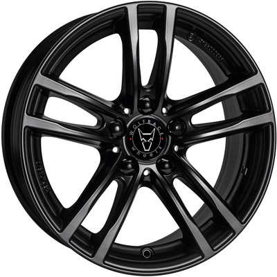 Wolfrace Eurosport X10 Gloss Black Alloy Wheels Image