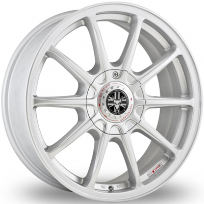 Wolfrace TrackReady Pro Lite Eco 2.0 Silver Alloy Wheels Image