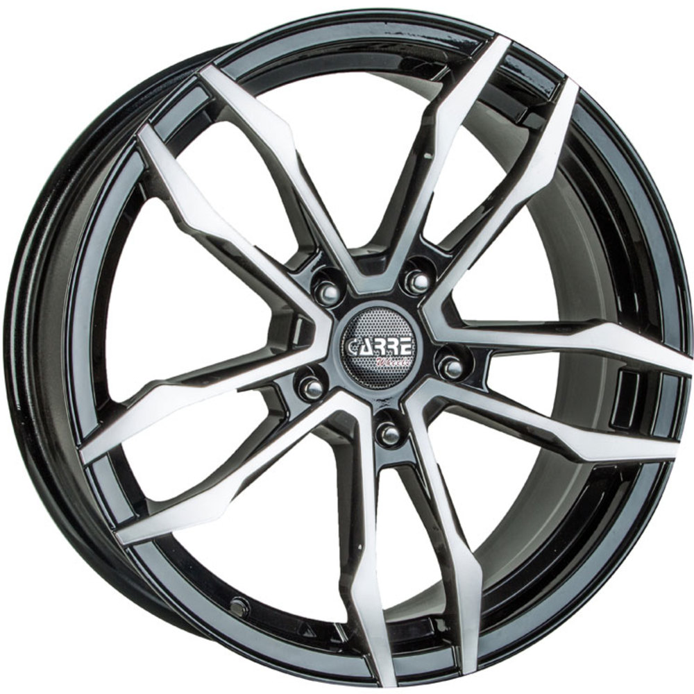 8x18 Carre VT5 Gloss Black Polished