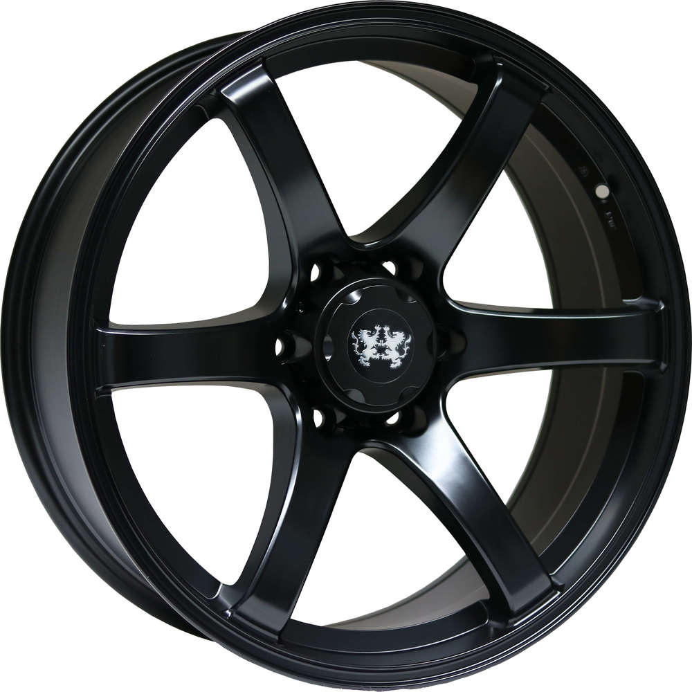 Large 9x20 Lionhart LH1 Satin Black
