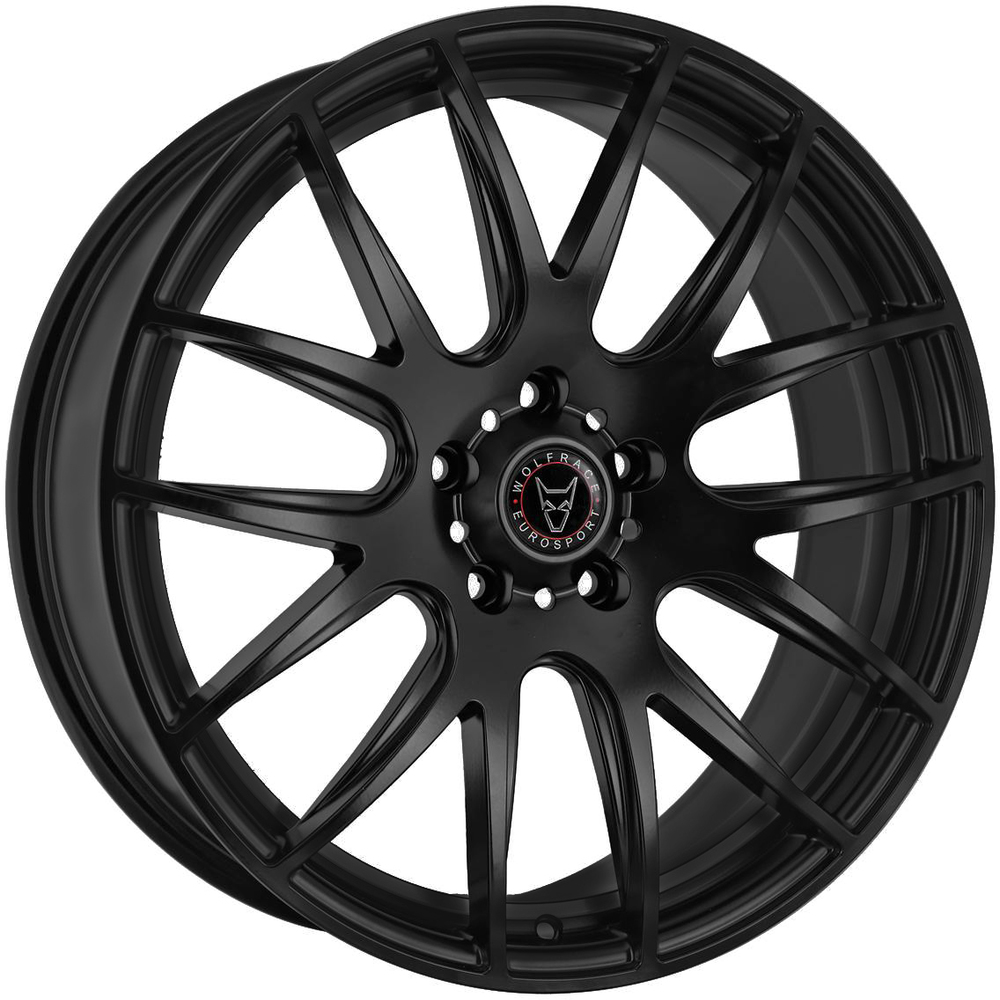 Large 8.5x20 Wolfrace Eurosport Munich 2 Matt Black