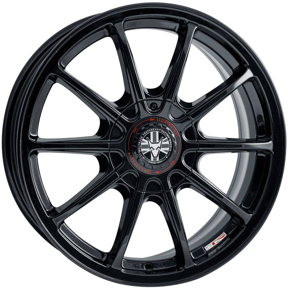 Large 7.5x17 Wolfrace TrackReady Pro Lite Eco 2.0 Gloss Black