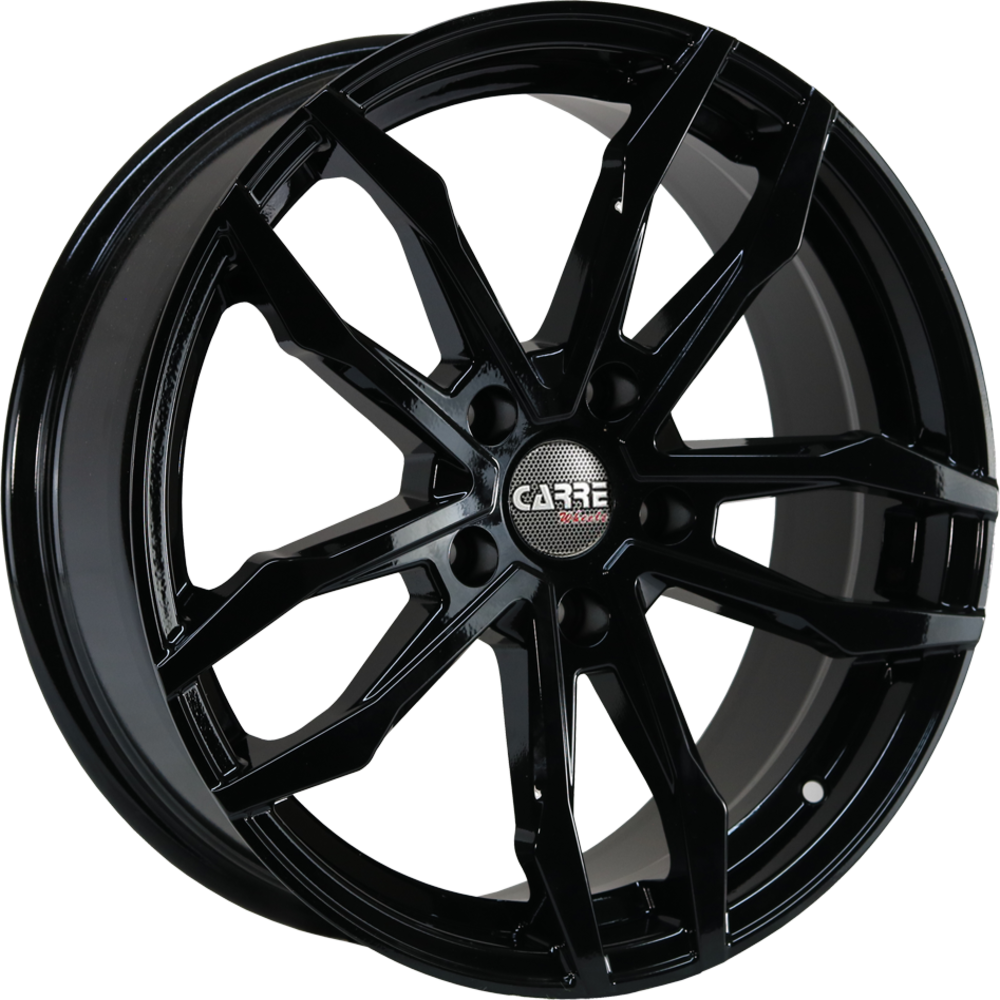 8x18 Carre VT5 Gloss Black