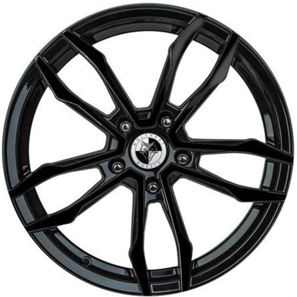 Large 8x18 Wolfhart VT5 Gloss Black