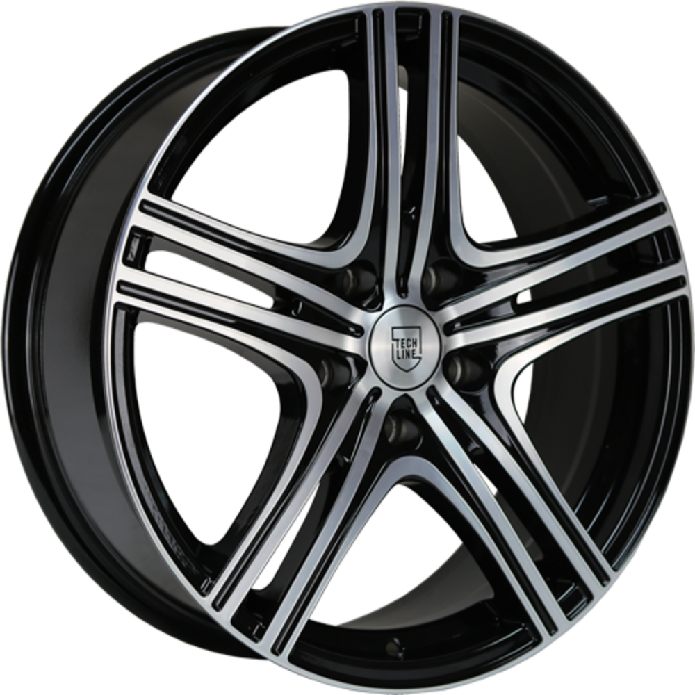 8x18 Wolfhart W810 Gloss Black Polished