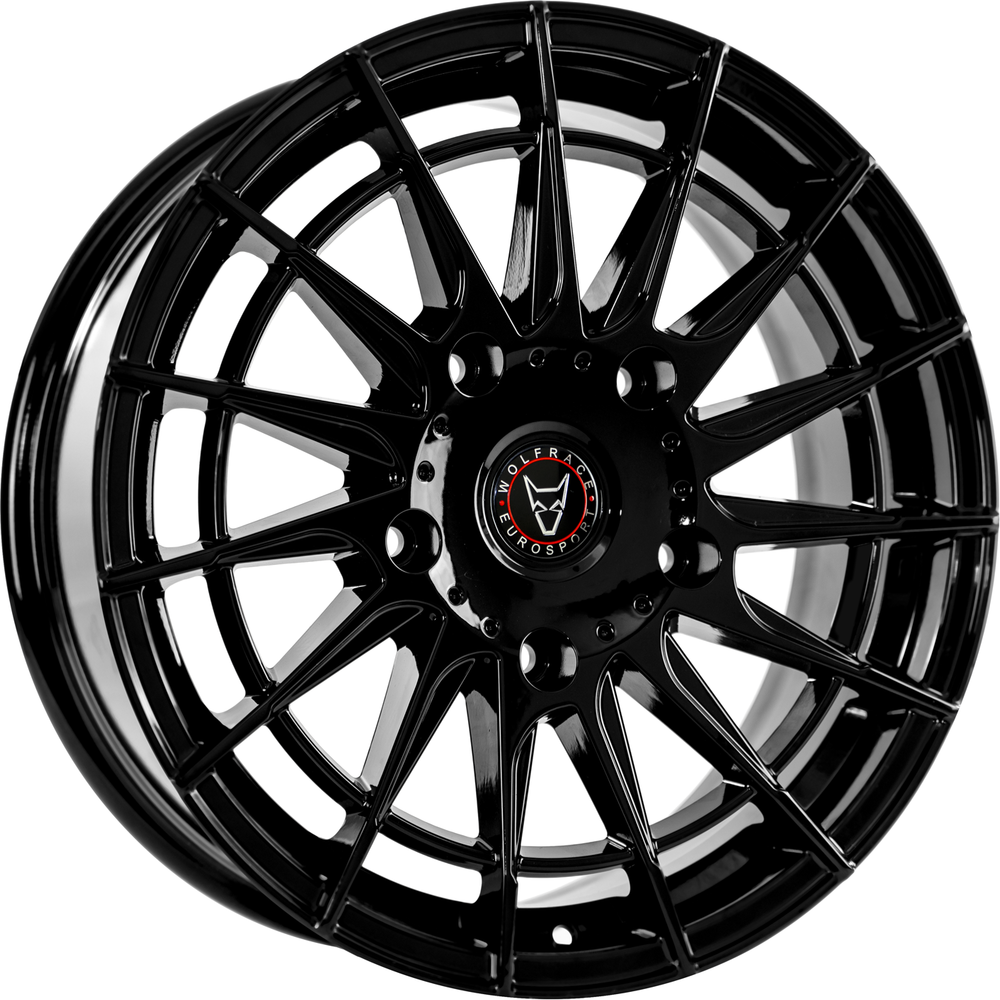 Large 8x18 Wolfrace Eurosport Aero Super-T Gloss Black