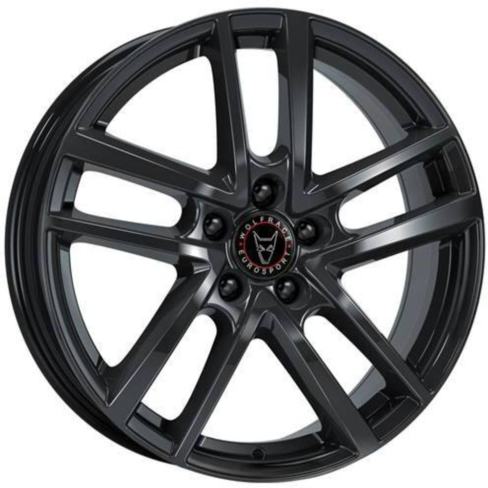 Large 7.5x17 Wolfrace Eurosport Astorga Diamond Black