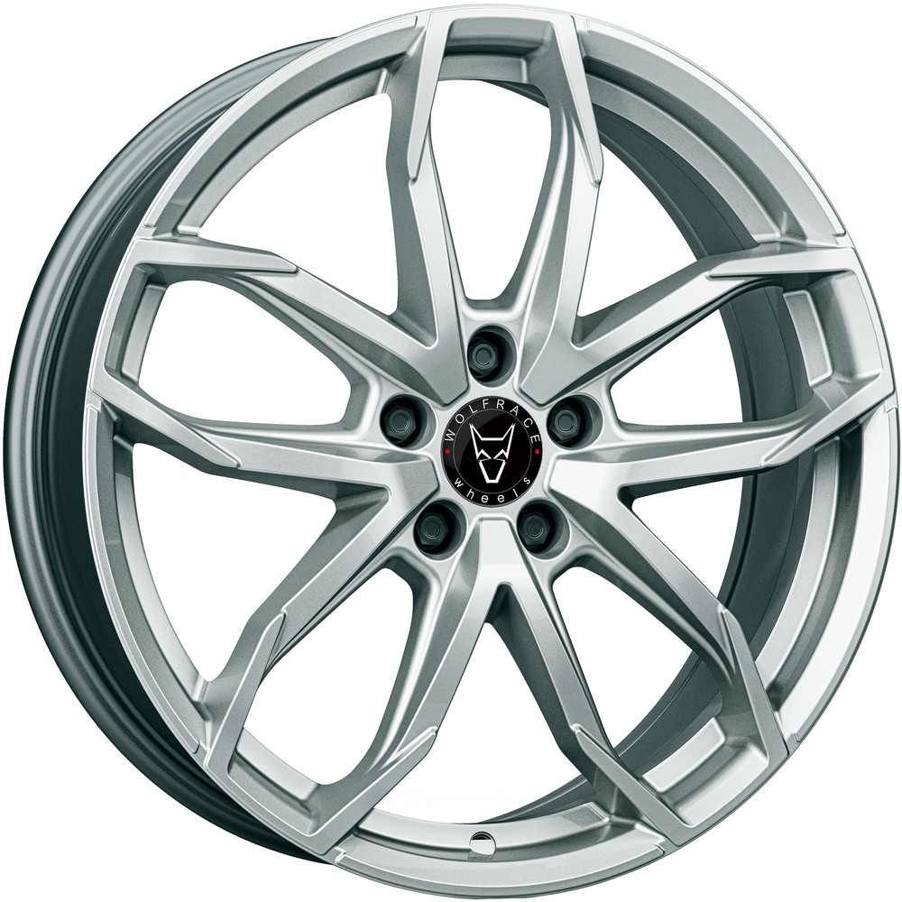 Large 6.5x16 Wolfrace Eurosport Lucca Polar Silver
