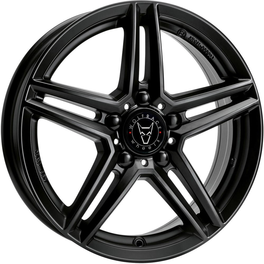 Large 8.5x19 Wolfrace Eurosport M10 Racing Black