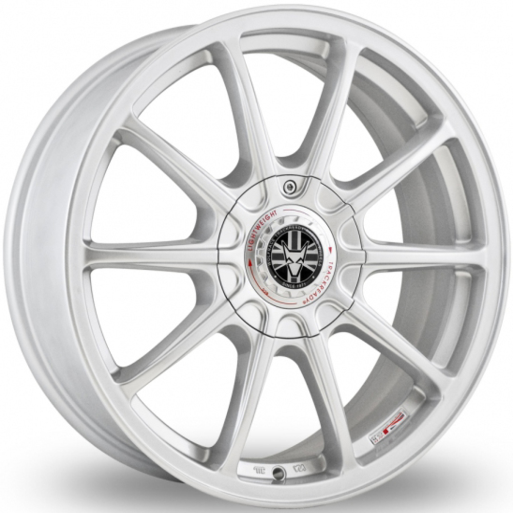 Large 7.5x17 Wolfrace TrackReady Pro Lite Eco 2.0 Silver