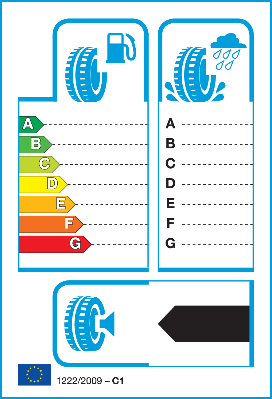 EU Tyre Label 1925545YGYF1ASYM3XL